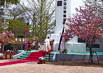 菊花之塔慰霊祭